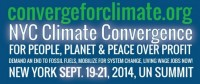 Save the Date! NYC Climate Convergence in September