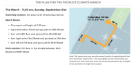 People's Climate March Route Finalized!