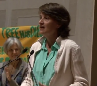 "VIDEO: Anne Petermann at the NYC Climate Convergence - ""Direct Action is the Antidote to Despair"""