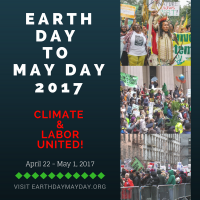Earth Day to May Day 2017: April 22 - May 1