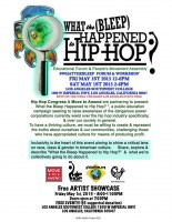 "Join the GCC's Timeka Drew in LA on May Day for ""What the Bleep Happened to Hip Hop?"""