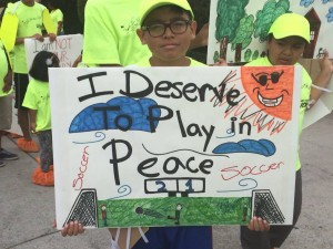 Read Leads / Freedom School Fracking Protest - South Los Angeles - July, 2015