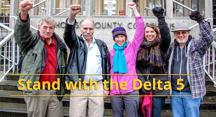 ECOWATCH: History Will Be Made Today as the Delta 5 Head to Court