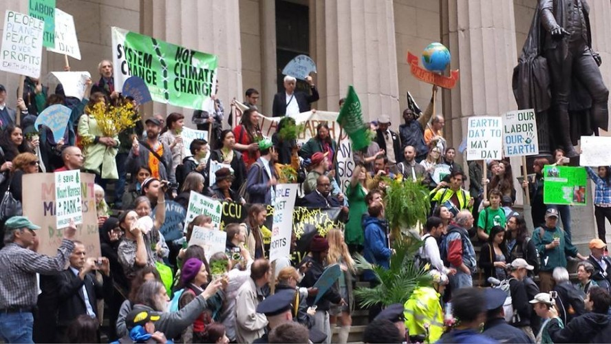 LIBERTY TREE: Act in solidarity for people and planet - Earth Day to May Day