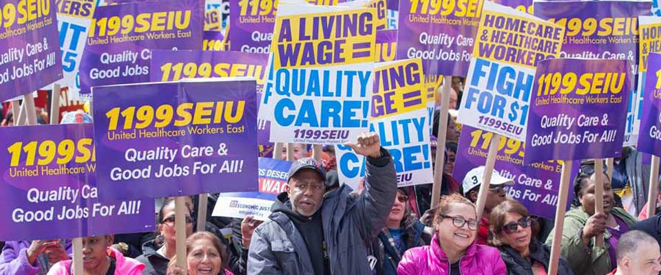 199SEIU: Largest Healthcare Union in the Nation, 1199SEIU, Calls for Clean Energy Jobs Instead of Dirty Fuel Pipelines