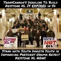 VIDEO: Indigenous Youth to Obama - Reject Keystone XL Pipeline