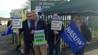 BBC NEWS: Teachers strike over 'climate of fear' at Wellsway school