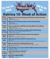 Support Gulf South Rising & the 10th Anniversary of Hurricane Katrina: August 21 - 30, 2015