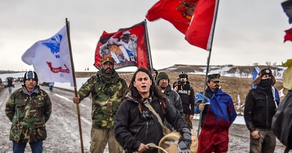 COMMON DREAMS: Water Is Life - The Story of Standing Rock Won't Go Away